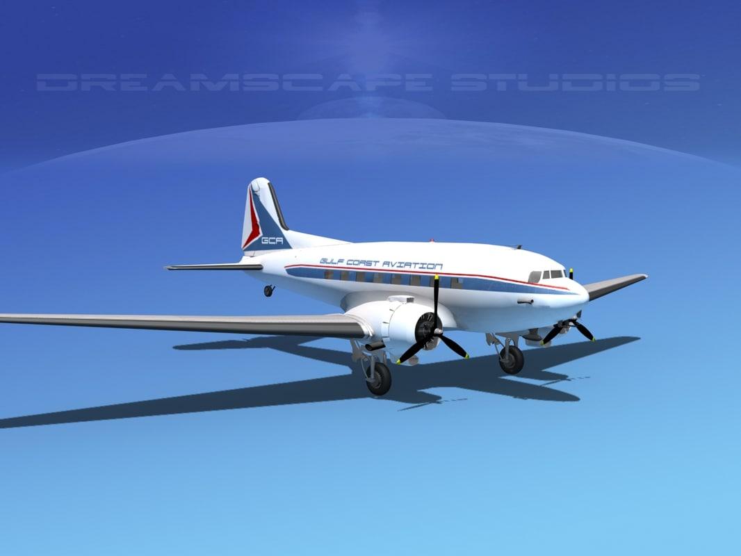 Douglas DC-3 Gulf Coast Aviation0025.jpg