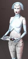 3ds max attendance robot