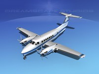 3ds max propellers beechcraft super king air