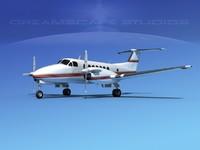 3d propellers beechcraft super king air model
