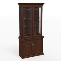 classic cupboard 3d model