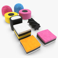 3d licorice allsorts model