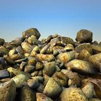 rocks debris 0 max