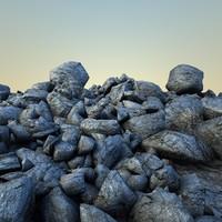 rocks debris 2 3d max