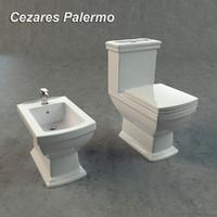 3d cezares palermo toilet bidet
