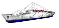 3d x stockholm ship ocean