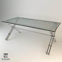 eichholtz desk hilton 3d max