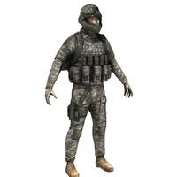 maya modern soldier