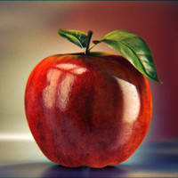 Photoreal Apple