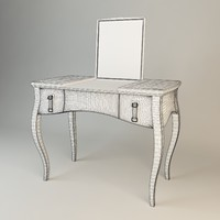 3d model fendi lady desk