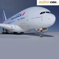 maya a380 air france