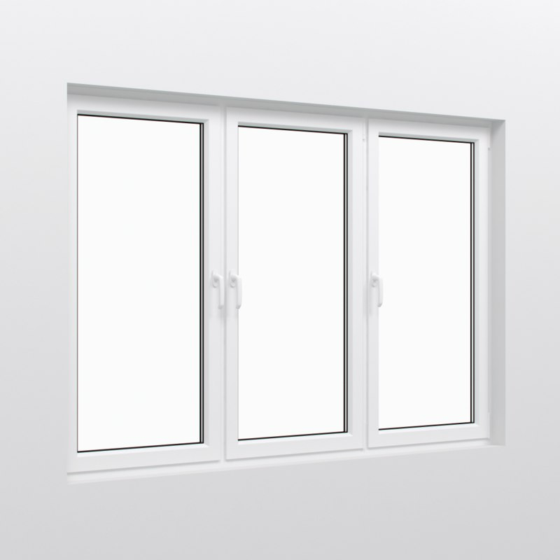Window frame 3d max for Window 3d model
