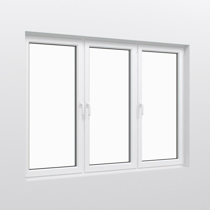 Window frame 3d max for Window 3d model