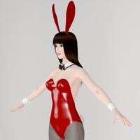 t-pose girl akari bunny max