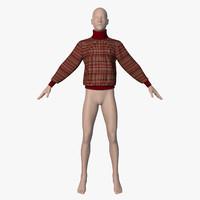 3ds max jumper mannequin