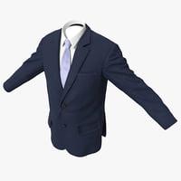 3ds max men jacket 6
