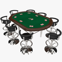 poker table 3d x