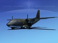 aircraft c-27 spartan 3d 3ds