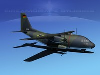 propellers c-27 spartan transports 3d model
