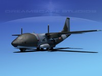 3d aircraft c-27 spartan model