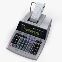 3d printing calculator canon mp1611-ltsc