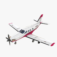 3d max civilian turboprop aircraft