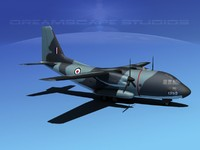 3d model of aircraft spartan