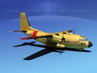 3d aircraft c-27 spartan transports