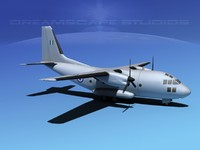 3d model aircraft c-27 spartan