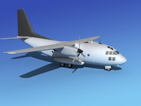 aircraft vbm c-27 spartan 3d model