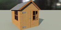 3d shed