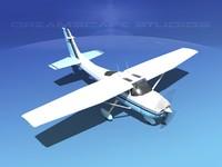 3d model skylane cessna 182