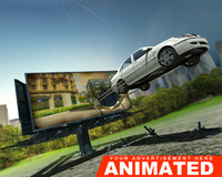 advertisement car animation 3d max