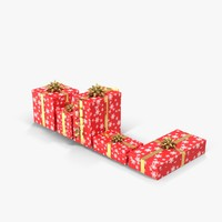 gift boxes 3ds