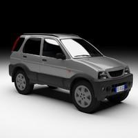 3dsmax car daihatsu terios