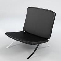 3d model armchair 5