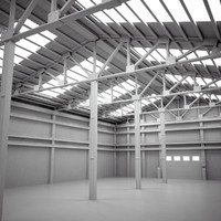 max scene warehouse interior