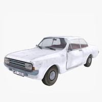 max opel rekord vintage car