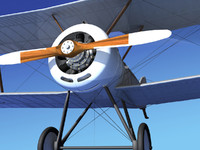 3d max cockpit fighter sopwith pup
