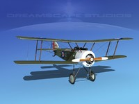cockpit fighter sopwith pup 3ds