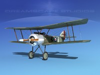 3d cockpit sopwith pup model
