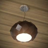 murano deluxe 50s lamp 3d model