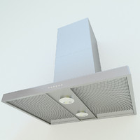 3d model of hood spotlights