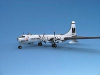 3d 3ds scale boeing b-50 superfortress