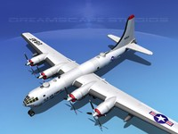 max scale boeing b-50 superfortress