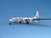 scale boeing b-50 superfortress 3d model