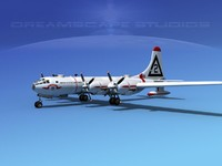 scale boeing b-50 superfortress 3d dxf