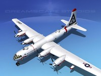 3ds max scale boeing b-50 superfortress