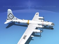 3ds scale boeing b-50 superfortress