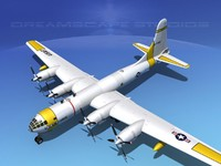 3d scale boeing b-50 superfortress